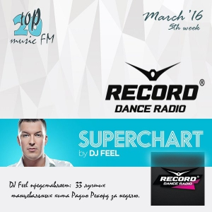 Сборник - Radio RECORD TOP-33 March - 5th week