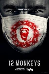 12 обезьян / 12 Monkeys (2 сезон: 1-7 серия из 13) | Baibako