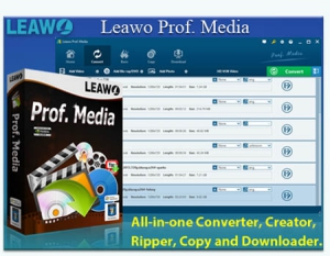 Leawo Prof. Media 7.5.0.0 [Multi/Ru]
