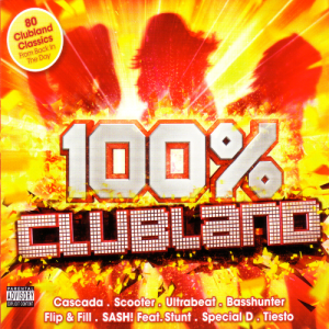 VA - 100% Clubland 5CD (Continuous Mixes)