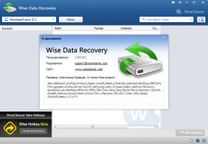 Wise Data Recovery 3.84.201 + Portable [Multi/Ru]