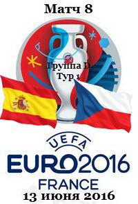 Футбол. Чемпионат Европы 2016 (Группа D. 1 тур) Испания - Чехия + Превью