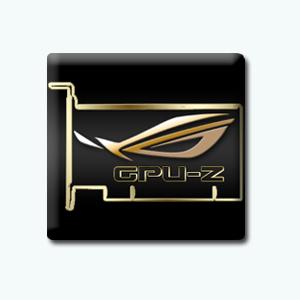 GPU-Z 0.8.9 + ASUS ROG Skin [En]