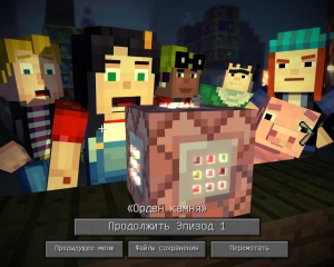 Minecraft: Story Mode - A Telltale Games Series. Episode 1-8 | RePack от R.G. Freedom