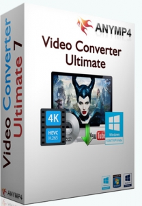 AnyMP4 Video Converter Ultimate 7.0.32 RePack (& Portable) by TryRooM [Multi/Ru]