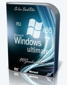 Microsoft Windows 7 Ultimate Ru x86 SP1 7DB by OVGorskiy® 06.2016 [Ru]