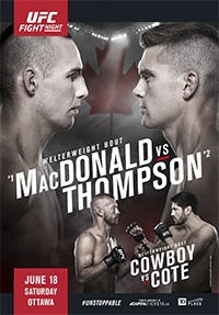 ��������� ������������ - UFC Fight Night 89: MacDonald vs. Thompson