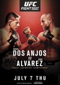 Смешанные единоборства - UFC Fight Night 90: dos Anjos vs. Alvarez | МатчТВ