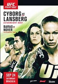 Смешанные единоборства - UFC Fight Night 95: Cyborg vs. Lansberg