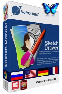 SoftOrbits Sketch Drawer Pro 4.2 [Multi/Ru]