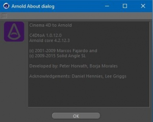 SolidAngle C4DtoA 1.0.12.0 + (alShaders) [En]