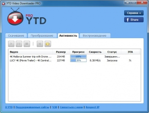YouTube Video Downloader PRO 5.7.3 (20160829) [Multi/Ru]