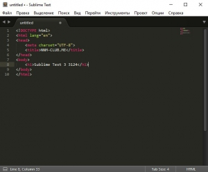 Sublime Text 3 Build 3124 Beta + Portable [Ru/En]