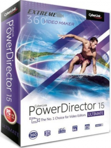 CyberLink PowerDirector 15 Ultimate 15.0.2026.0 RePack by PooShock [Ru/En]
