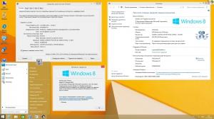 Microsoft® Windows® 8.1 Professional VL with Update 3 x86-x64 Ru by OVGorskiy® 09.2016 2DVD