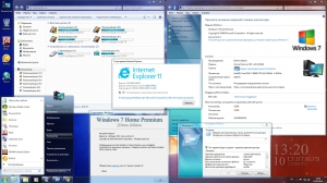 Windows 7 Home Premium SP1 IDimm Edition х86/x64 v.23.16 [Ru]
