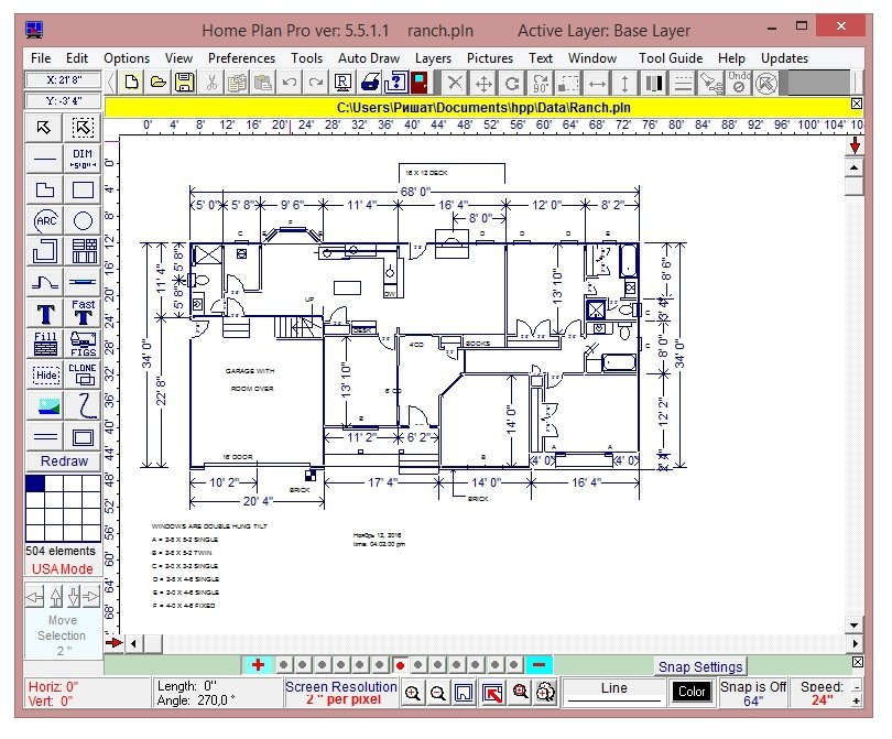 Программа для создания план схемы дома