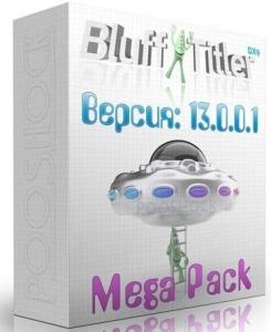 BluffTitler Ultimate 13.0.0.1 MegaPack RePack by PooShock [Multi/Ru]