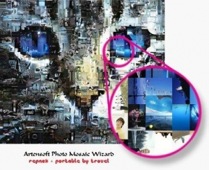 Artensoft Photo Mosaic Wizard 1.8.129 DC 03.11.2016 RePack (& Portable) by Trovel [Ru/En]