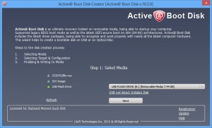 Active@ Boot Disk Suite 10.5.0 [En]