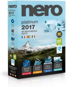 Nero 2017 Platinum 18.0.05900 Full RePack by Vahe-91 [Ru/En]