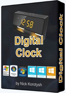 Digital Clock 4.5.3 Stable + Portable [Multi/Ru]