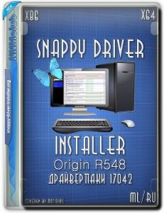 Snappy Driver Installer Origin R548 / Драйверпаки 17042 [Multi/Ru]