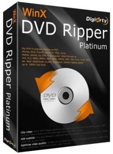 WinX DVD Ripper Platinum 8.5.0.192 Build 01.04.2017 RePack by вовава [Ru]