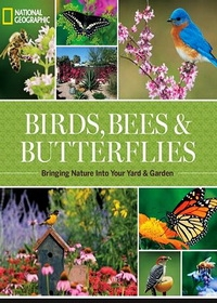 Прекрасный сад: Бабочки, Птицы и Цветы