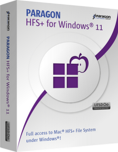 Paragon HFS+ for Windows 11.1.75 [Ru]