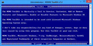 MSMG ToolKit 7.2 [En]