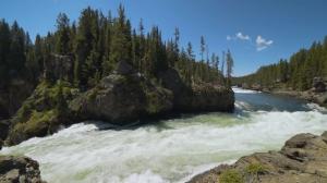 Водопады Йеллоустона и их открытие