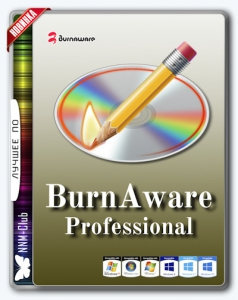 BurnAware Professional 10.4 RePack (& Portable) by KpoJIuK [Multi/Ru]