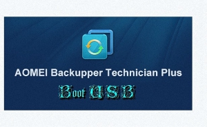 AOMEI Backupper Technician Plus 4.0.4 BootUSB [En]