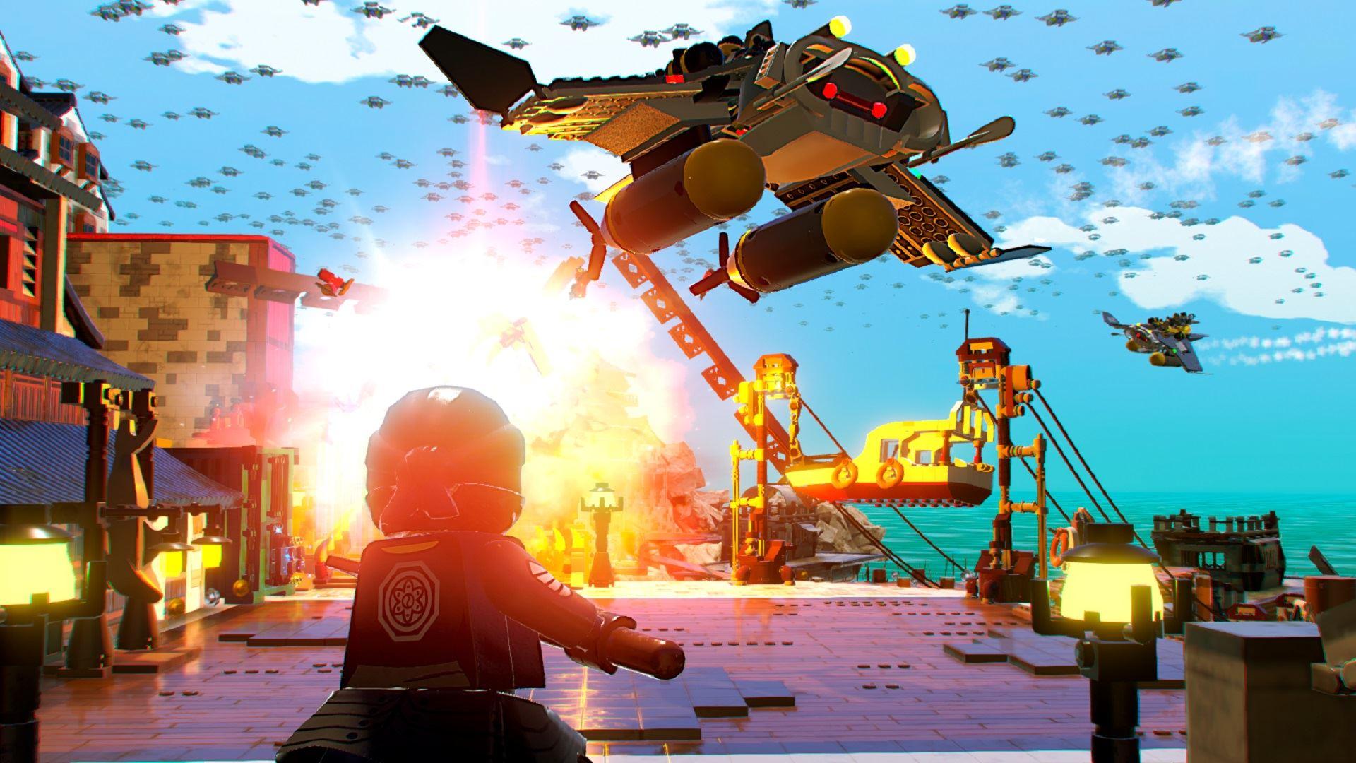 Lego ninjago games