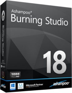 Ashampoo Burning Studio 18.0.8.1 RePack (& Portable) by D!akov [Ru/En]