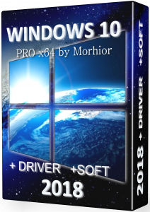 Windows 10 PRO x64 by Morhior + drivers and soft