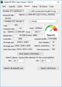 GPU Caps Viewer 1.43.0.0 + Portable [En]