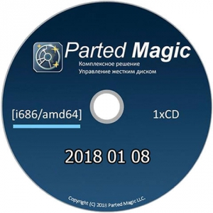 Parted Magic 2018 01 08 [i686_amd64] 1xCD