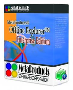 MetaProducts Offline Explorer Enterprise 7.8.4660 RePack (& Portable) by TryRooM [Multi/Ru]