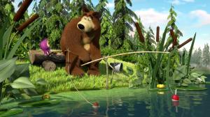 Маша и Медведь (1-89 серии) + Машины сказки (1-26 серии) + Машкины страшилки (1-26 серии)