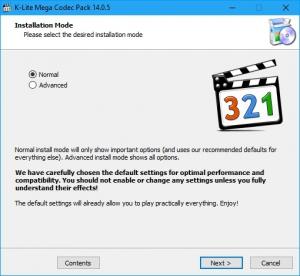 K-Lite Codec Pack 15.3.5 Mega/Full/Standard/Basic + Update [En]