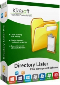Directory Lister 2.36 Enterprise Edition RePack (& Portable) by TryRooM [Multi/Ru]