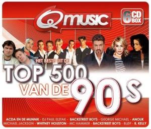 VA - Q-Music Top 500 van de 90's Box