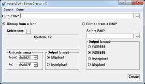 AsceticSoft : BitmapCreator v.C Portable [Multi/Ru]