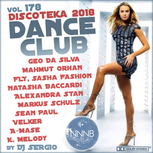 VA - Дискотека 2018 Dance Club Vol. 178