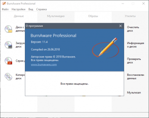 BurnAware Professional 11.9 RePack (& Portable) by TryRooM [Multi/Ru]