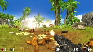 Action Alien: Tropical Mayhem