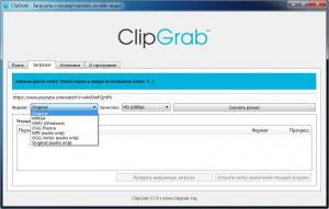 ClipGrab 3.8.14 [Multi/Ru]