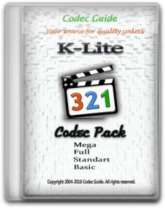 K-Lite Codec Pack 15.6.5 Mega/Full/Standard/Basic [En]
